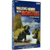 BBC纪录片DVD影碟片 与巨兽同行 盒装1DVD