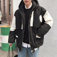 男士冬季外套2018新款棉袄工装棉衣韩版潮流帅学生冬装面包服