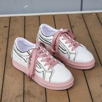 夏季小白鞋女2019春款百搭基础平底低跟新款白鞋板鞋透气夏款潮鞋
