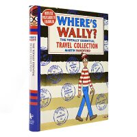 Where's Wally The Totally Essential Travel 威利在哪里7册合集本 儿童英语益智
