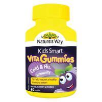 保税区直发 澳大利亚Nature's Way佳思敏 儿童抗感增强免疫力软糖60粒