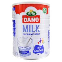保税区直发 丹麦Arla DANO速溶全脂奶粉 900