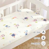 60支贡缎长绒棉类婴儿床笠纯棉 单件儿童新生儿宝宝床单床上用品