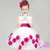 儿童蓬蓬裙演出服白雪公主裙幼儿舞蹈连衣纱裙小学生合唱表演装女