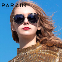 帕森偏光太阳镜 女士时尚大框彩膜潮墨镜女9905