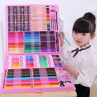儿童水彩笔套装幼儿园画画小学生用绘画彩色笔手绘可水洗72色水彩画笔初学者彩笔套盒颜色笔・