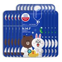 美迪惠尔可莱丝NMF水润水库保湿面膜卡通限量版一盒10片