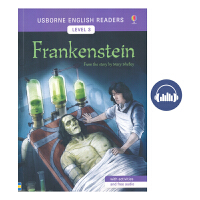 Usborne English Readers Level 3 Frankenstein 科学怪人/弗兰肯斯坦 儿童经