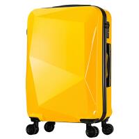 行李箱拉杆箱万向轮男女学生旅行箱包拖箱硬箱钻石切割面20英寸24英寸