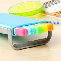 糖果色荧光笔创意文具学生标记荧光笔水彩笔记号笔 套装5支装