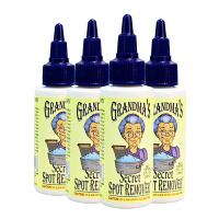 【四瓶】美国直邮 Grandma's Secret老奶奶的秘密 洗衣液衣物去污渍血渍油渍清洗剂 59ml*4 海外购