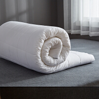 天然乳胶床垫薄款2cm床褥垫子学生宿舍全棉软垫床垫薄款垫子3cm 2厘米乳胶床垫 可拆洗外套三边拉