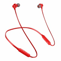 颈挂式无线蓝牙耳机V4.2跑步运动挂脖音乐耳机可插卡TF3