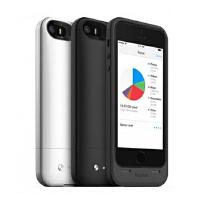 Mophie space pack存储功能苹果iphone se/5/5s拓展式背夹电池 1700毫安