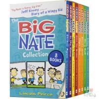 The Big Nate 大内特系列 我们班有个捣蛋王 8册盒装 爆笑畅销小说 漫画章节书 校园生活8-12岁 青少年课