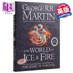 【中商原版】乔治.马丁:冰与火之歌的世界 英文原版 The World of Ice and Fire Harper