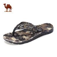 骆驼牌户外夏季新品情侣款便携透气速干轻便男女拖鞋