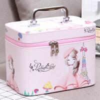 手提化妆包收纳包便携旅行大容量化妆箱化妆品包洗漱包