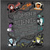 英文原版 无所畏惧:影响世界历史的女科学家 2020年挂历 STEM 女孩励志 新年日历 Women in Scien