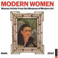 【现货】英文原版 MOMA纽约现代艺术博物馆:女性艺术家2020年挂历 新年日历 Modern Women 2020