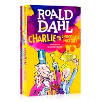 英文原版小说Roald Dahl罗尔德达尔4册合售Charlie and the Chocolate Factory