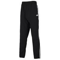 Adidas阿迪达斯男裤健身运动裤休闲三条纹长裤FM5459