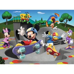 [当当自营]Ravensburger 睿思 迪士尼系列 米老鼠轮滑俱乐部 (100片) 儿童益智卡通拼图玩具 R108718