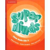 英音版剑桥小学英语教材 Super Minds Level 4 Class Audio CDs (4) 第四级别 课堂CD