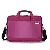 商务手提公文包单肩手提平板电脑包男女笔记本电脑包大容量商务公文包