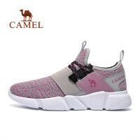 camel 骆驼运动跑步鞋 女款轻便透气耐磨跑鞋时尚跑步鞋