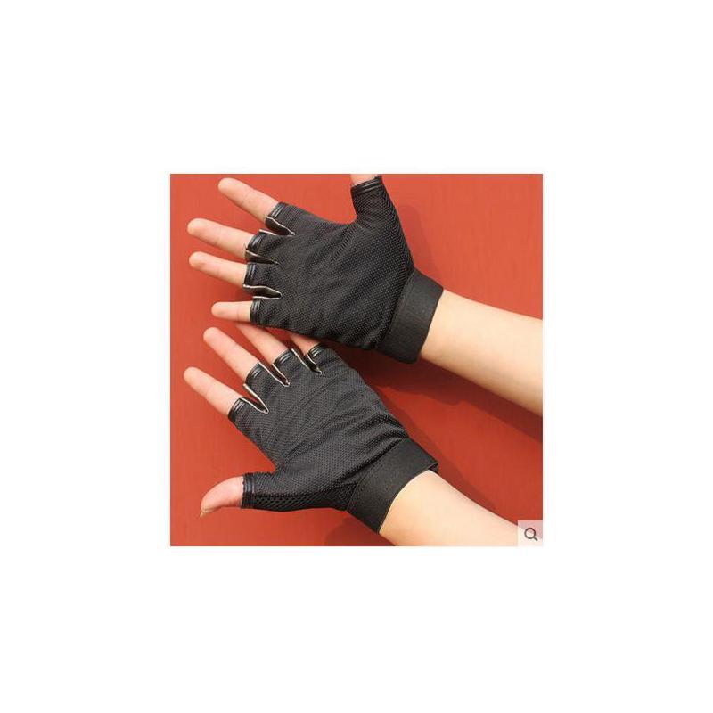 骑行手套男女士半指手套薄款户外运动山地车手套登山短指手套 质量保证  售后无忧 货到付款