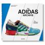 预售 The Adidas Archive Footwear Collection 阿迪达斯档案馆鞋类系列 英文原版 仿运动鞋皮面封面 精装收藏 潮鞋 Taschen 塔森