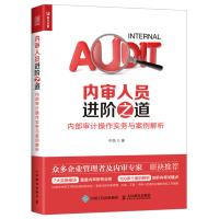 内审人员进阶之道 内部审计操作实务与案例解析 企业财务会计管理 内控风控审计书籍 财务管理审计 企业管理书籍