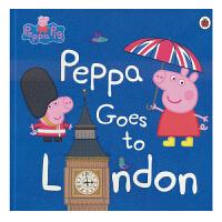 Peppa Goes to London 小猪佩奇粉红猪小妹去伦敦 小猪佩奇 3-6岁儿童 英语故事书绘本 儿童英文原
