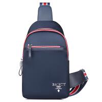 男士胸包韩版潮大容量防水牛津布运动户外休闲斜挎包小背包BST