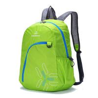 户外男女皮肤包可折叠收纳双肩背包徒步登山包防水便携