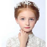 圣诞节皇冠发箍儿童饰品 新品女童演出头饰小公主水钻头箍