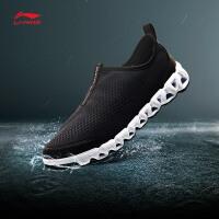 李宁溯溪鞋男鞋新款户外系列李宁弧减震透气耐磨防滑户外运动鞋AHLM009