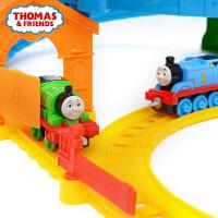 托马斯小火车合金系列之旋转赛道轨道套装BHR97 儿童玩具小火车