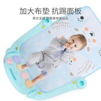 婴儿脚踏钢琴健身架器新生儿宝宝益智玩具