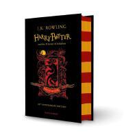 英文原版 哈利波特与阿兹卡班的囚徒 20周年学院版 格兰芬多精装 Harry Potter and the Prison