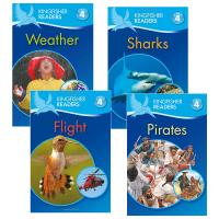 Kingfisher Readers Level 4 翠鸟分级读物系列第4级4册 英文原版 英文版儿童STEM课外教辅读