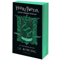 哈利波特与密室 斯莱特林平装版 二十20周年纪念版 英文原版 Harry Potter and the Chamber