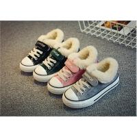 童鞋儿童大棉鞋男女童鞋帆布鞋