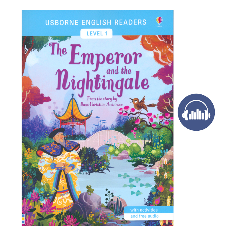 Usborne Level 1 The Emperor and the Nightingale 皇帝与夜莺 英语小读者 儿童初级童话分级阅读 英文原版图书 附赠英美式官方音频