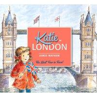 英文原版 凯蒂在伦敦 凯蒂的名画奇遇 Katie in London 艺术启蒙 儿童绘本