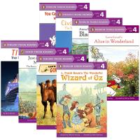 美国企鹅分级阅读绘本 第四阶段8册 英文原版 Penguin Young Readers L4 全彩插图 小学儿童少儿英