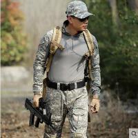 户外军迷服装青蛙服套装ACU迷彩服作训服男多袋耐磨
