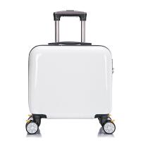 定制拉杆箱16寸儿童旅行箱包订做logo万向轮男女登机卡通行李箱潮 16寸