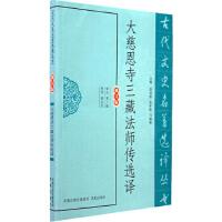 大慈恩寺三藏法师传选译(古代文史名著选译丛书)
